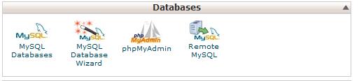 یجاد دیتابیس یا پایگاه اطلاعاتی داده MYSQL