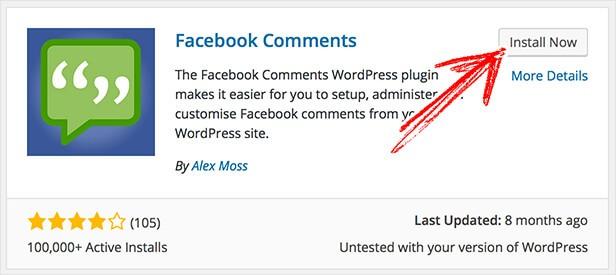 استفاده از نظرات فیسبوک بر روی سایت وردپرسی