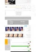 صفحه داخلی سایت موزیک