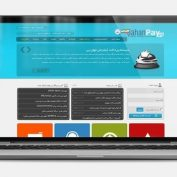 طراحی گرافیک سایت جهان پی
