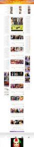 طراحی سایت گالری عکس هنرمندان
