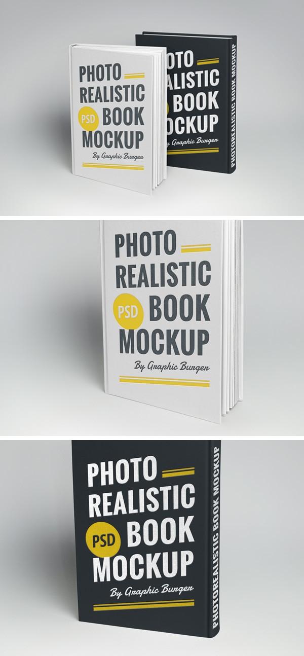 پیش نمایش کتاب Cover Book MockUp