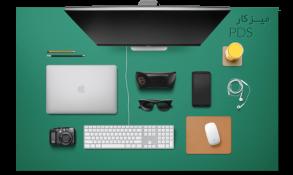 طرح لایه لایه میز کار طراحان