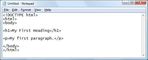 HTML5 - Example