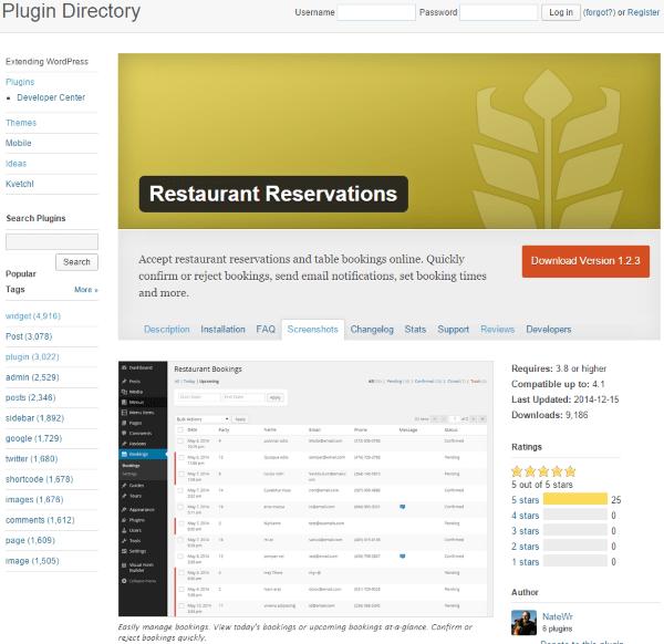 طراحی سایت رستوران با وردپرس
