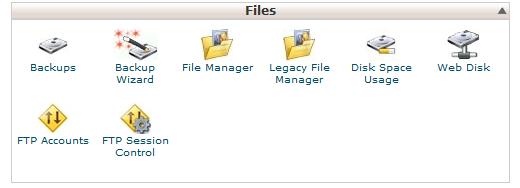 ورود فایل منیجر سی پنل