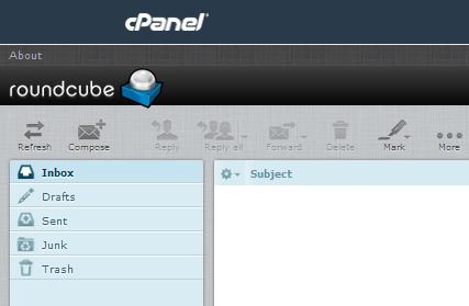 اینباکس webmail سی پنل