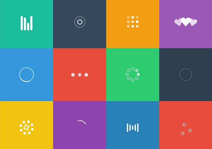 لودینگ SVG برای طراحی سایت