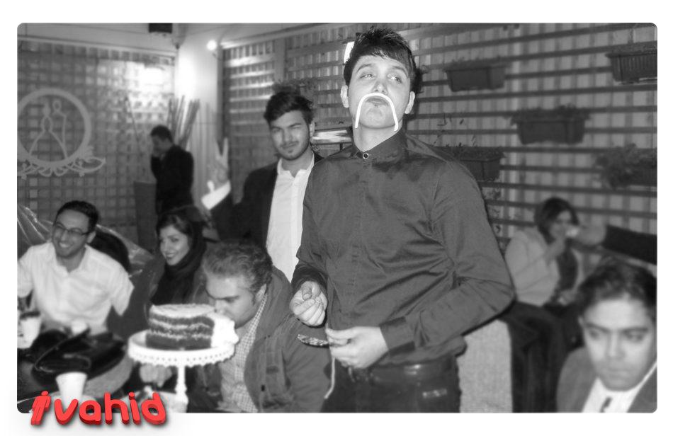 عکس تولد 5 سالگی آی وحید