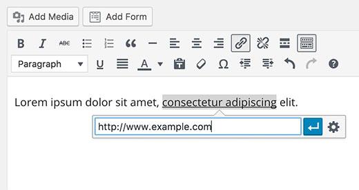 آموزش ایجاد لینک یک ایمیل در وردپرس