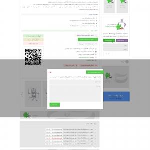 صفحه داخلی طراحی سایت بهینه و استاندارد فارس روید