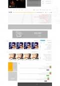 صفحه داخلی آلبوم سایت موزیک