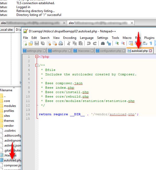تنظیم notepad++ به عنوان ویرایشگر پیشفرض filezilla