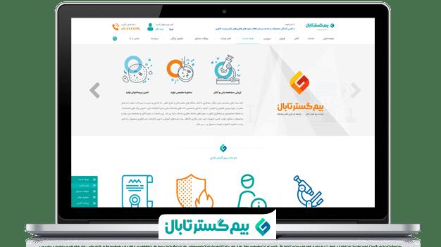 طراحی سایت بیم گستر