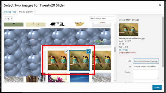 آموزش نمایش تصویر قبل/بعد در وردپرس