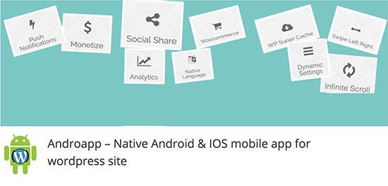 4 افزونه برای تبدیل سایت به نرم افزار موبایل