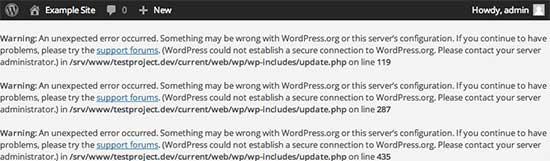 آموزش رفع خطای Secure Connection در وردپرس