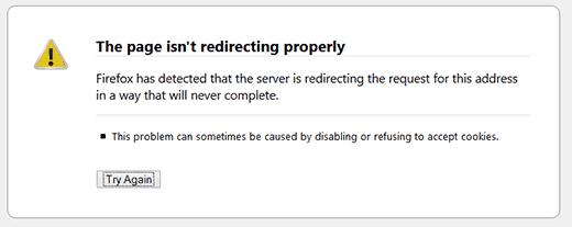 رفع خطای Too Many Redirects در وردپرس
