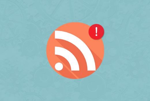 رفع خطای RSS Feed