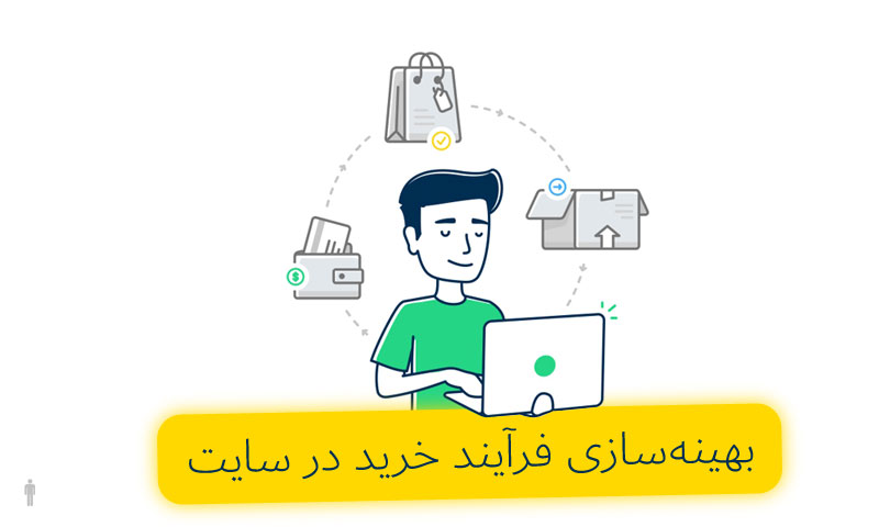 بهینهسازی فرآیند خرید در سایت
