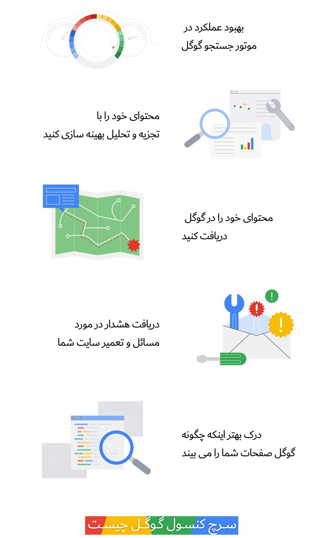 سرچ کنسول گوگل چیست