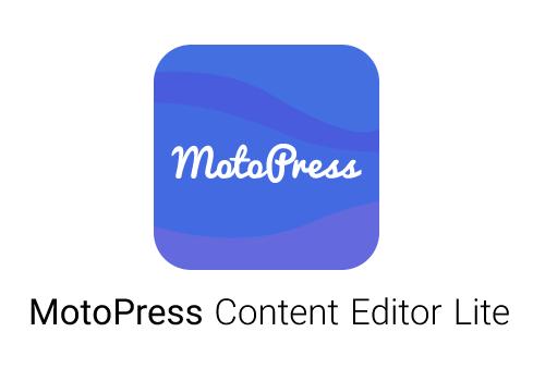افزونه MotoPress Content Editor Lite