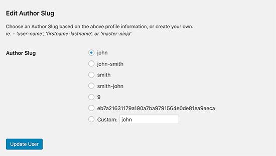 آموزش تغییر آدرس نویسنده در وردپرس