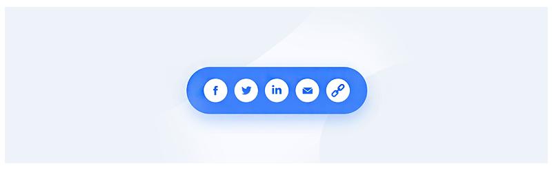 دکمه اشتراک گذاری رسانه های اجتماعی