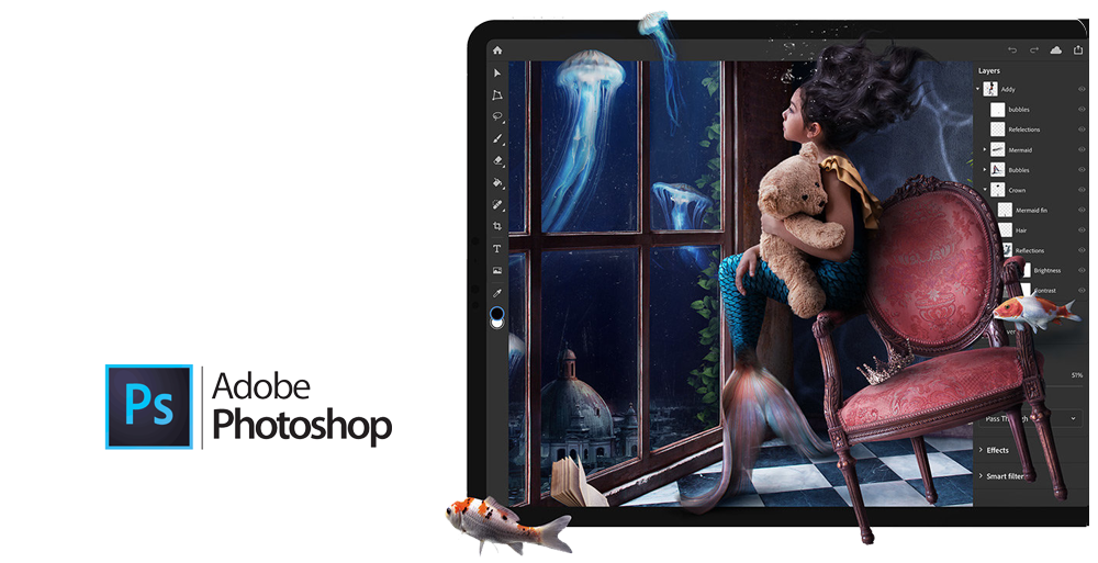 ادبی فتوشاپ adobe photoshop