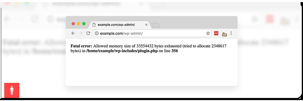 خطای محدودیت حافظه Memory exhausted وردپرس