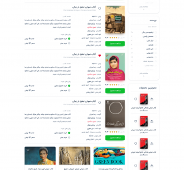 صفحه داخلی پست ها