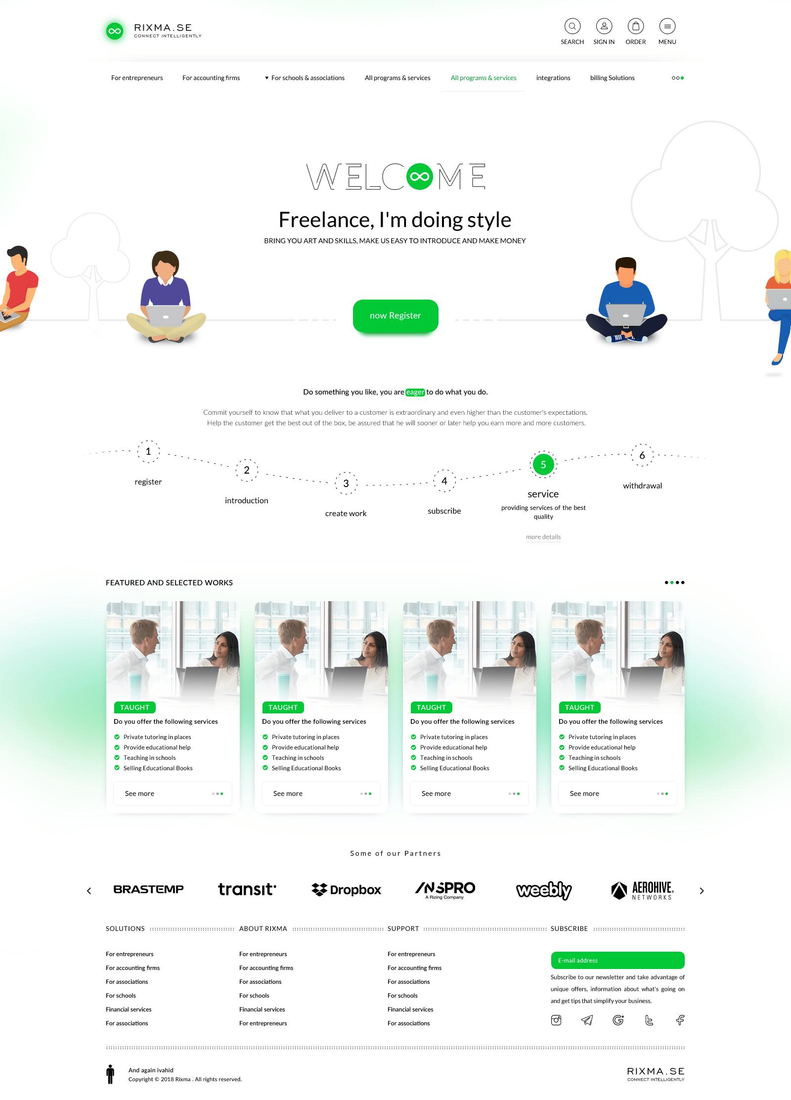 صفحه مشتریان
