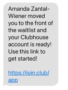 Clubhouse دعوتنامه