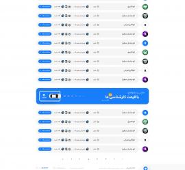 صفحه نمایشگاه ها سایت ماشین